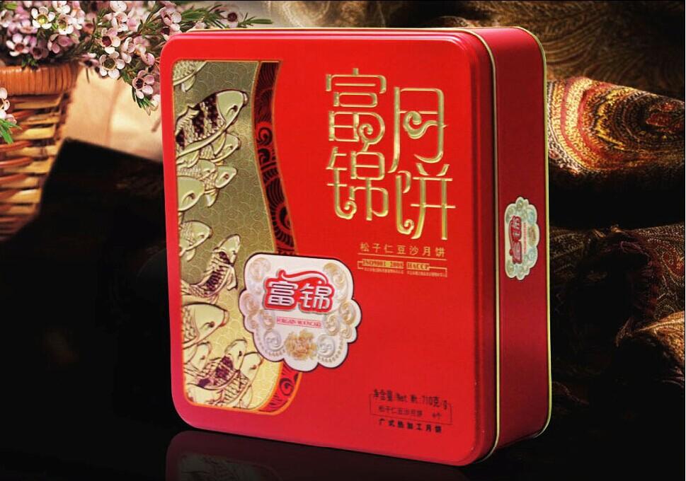【富锦月饼】松子仁豆沙710g
