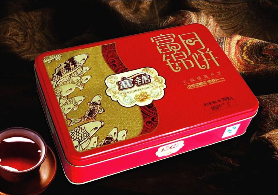 【富锦月饼】六福报喜710g